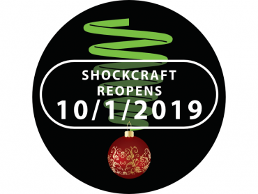 Shockcraft Reopens 10th January 2019
