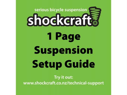 1 Page Suspension Setup Guide