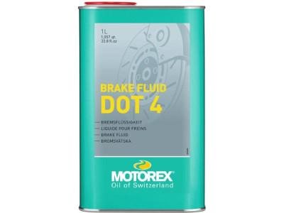 Brake Fluid DOT 4 1 litre (Motorex)