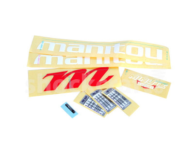 "Minute Expert 27.5"" Decal Kit (Manitou)"