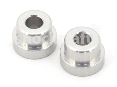 2 Piece 12.7 x 22.2 mm M6 Shock Mounting Hardware (Manitou)