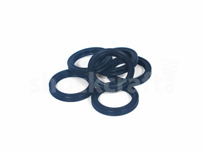 Quad Rings - Black Nitrile Rubber