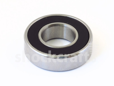 61002-2RS Steel ABEC 5 Caged Bearing (Enduro)
