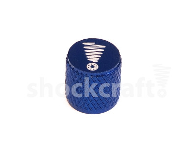 Valve Cap Deep Blue (Shockcraft)