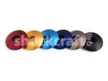 """Coloured Stem Caps 1 1/8"""" (Shockcraft)"""