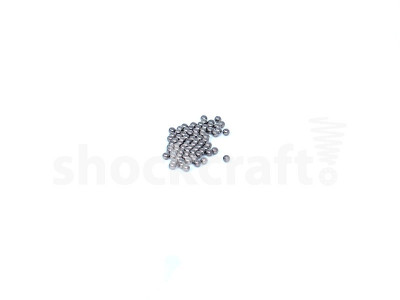 """1.6 mm (1/16"""") Stainless Steel Loose Ball Bearing (Monocrome)"""
