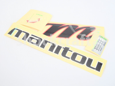 R7 2013/14 MRD Decal Kit (Manitou)