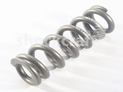 """Titanium Spring 550 lb/in 3.0"""" (Manitou)"""