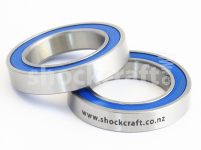 Big Steel External Bottom Bracket Bearing Pair (Monocrome)