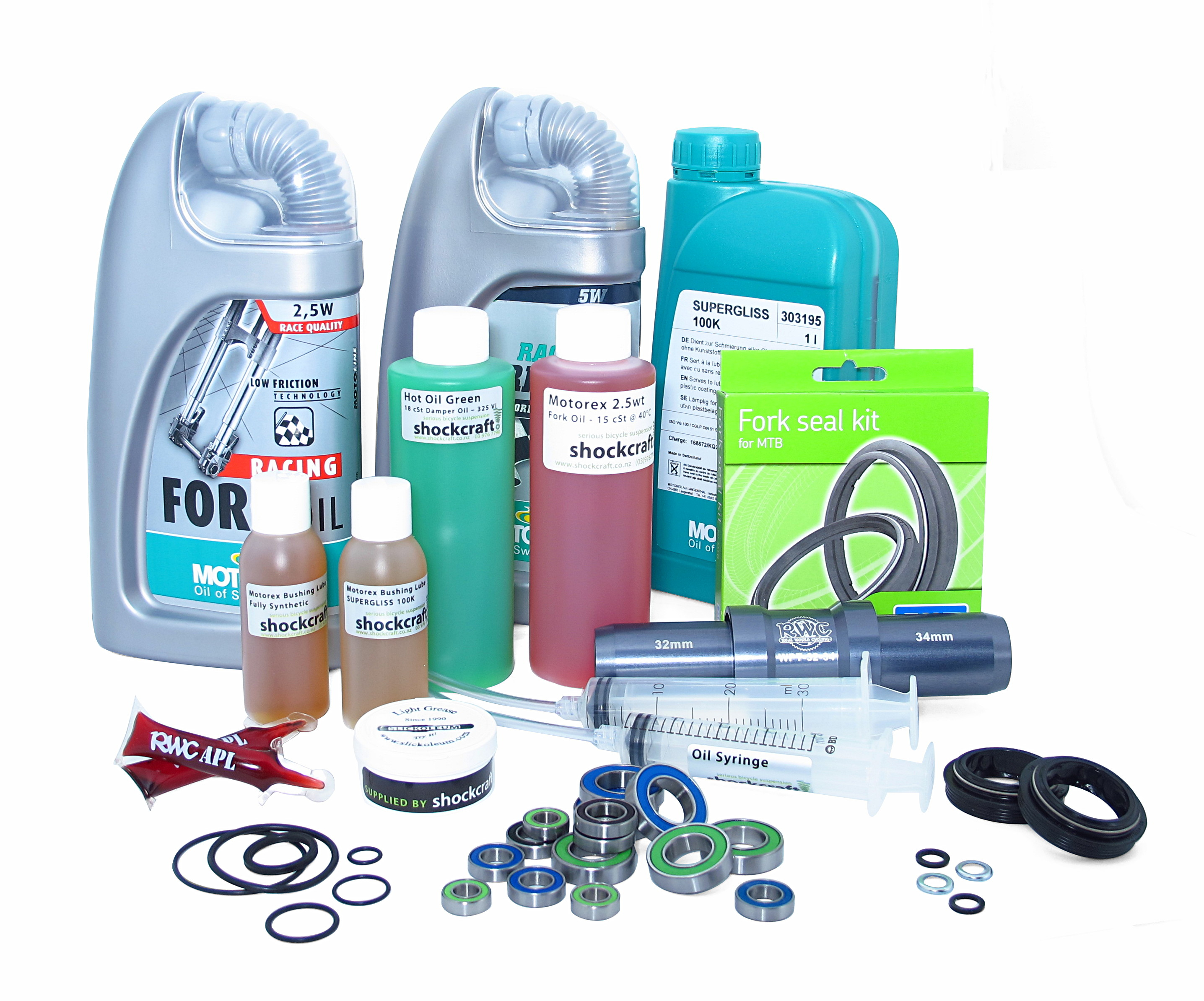 Service Parts & Lubricants