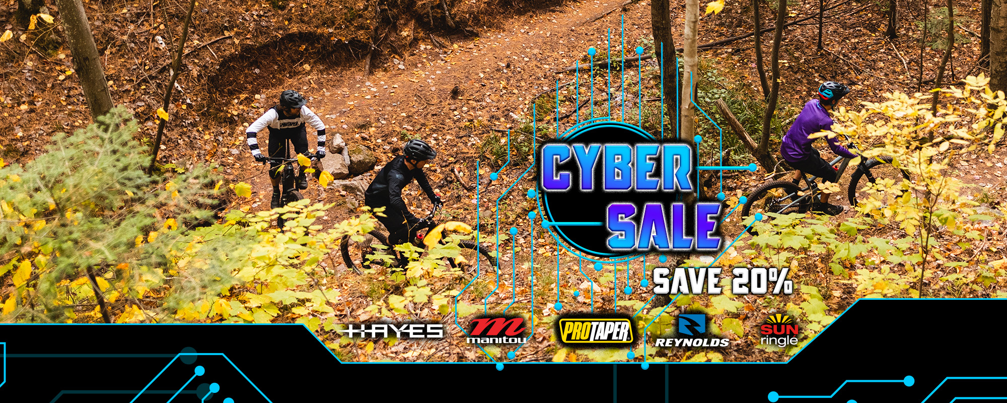 Hayes Bicycle Cyber Sale 2020