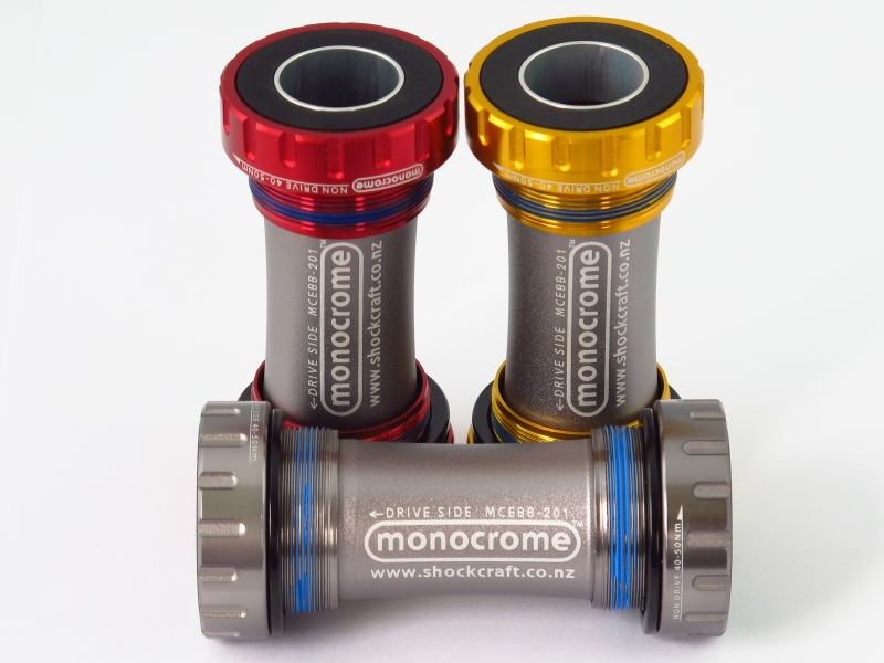 Shockcraft MTB Stepped Bottom Bracket (Monocrome)