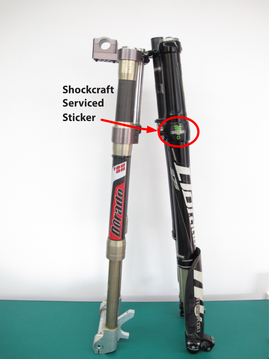 Shockcraft Serviced Forks